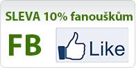 Získajte zľavu 10% pre fanúšikov na FB